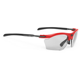 Rudy Project Rydon Slim Lunettes, fire red gloss - impactx photochromic 2 black
